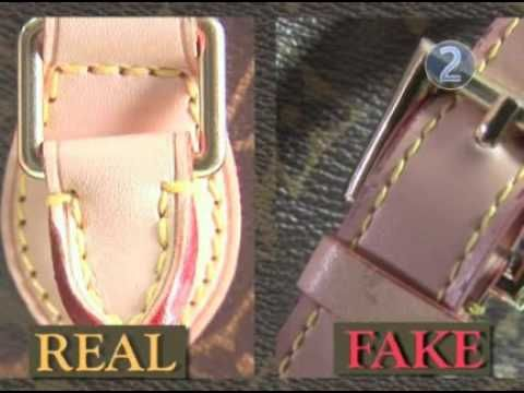How do you know if a Louis Vuitton is fake? Fake bags ...