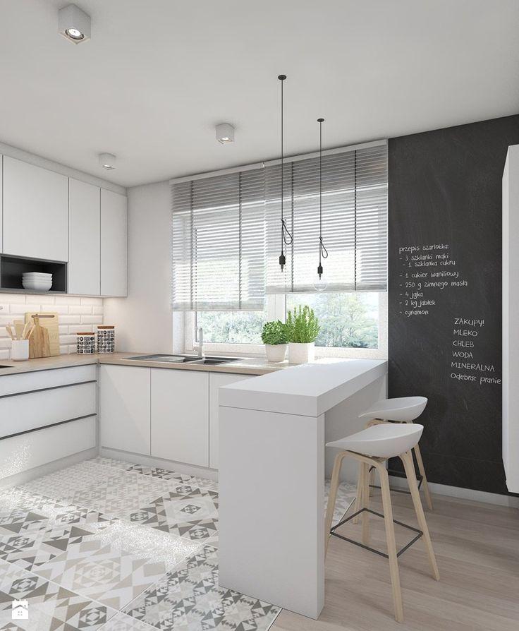 Kuchnia styl Skandynawski - zdjęcie od A2 STUDIO pracownia architektury