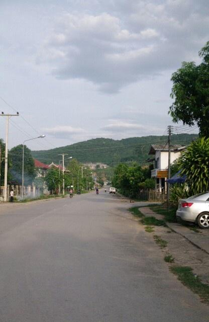 2013/5/18現在いるラオスのルアンナムター。何があるわけではない街。数日したらベトナム行きます。中国、ビザがダメだった。。。