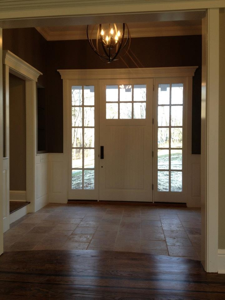 Front door and sidelights new house pinterest doors front doors and lights for Exterior entry lights