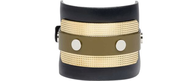 What Every Girl Needs #2 Balenciaga large Guillochet Bracelet