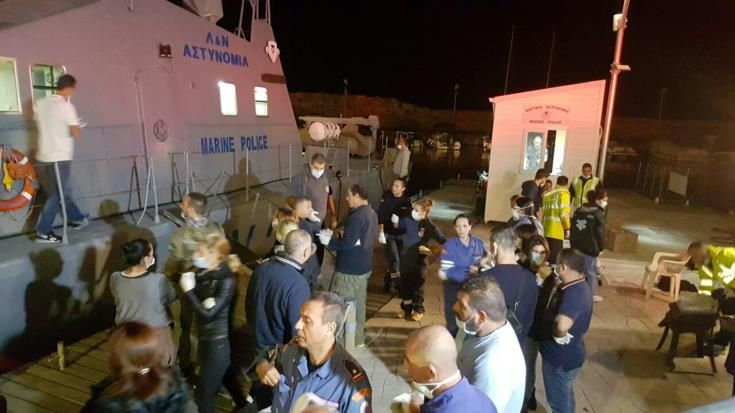 Συνεχίζονται οι έρευνες της Αστυνομίας για την ταυτοποίηση και την καταγραφή των μεταναστών