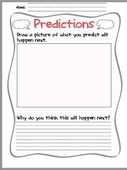 Simple Making Predictions organizer