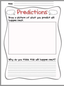 Worksheet Making Predictions Worksheets 3rd Grade 1000 ideas about making predictions on pinterest prediction anchor chart inference and drawing conclusions