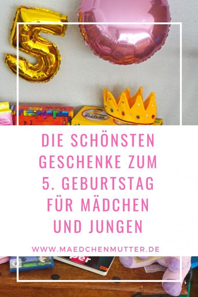 Schöne Geschenke Zum 5 Geburtstag Meine Blogartikel Pinterest