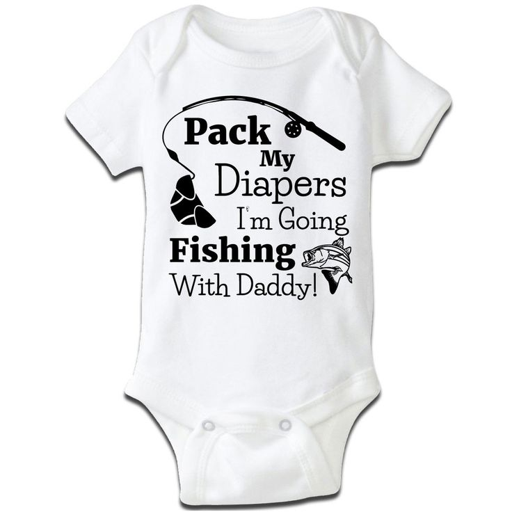 If you want to take you fishing buddy on your next trip, here's the perfect baby grow to wear. 100% baby rib cotton construction Neckband designed for easy on-and-off Not intended for sleepwear Shrink