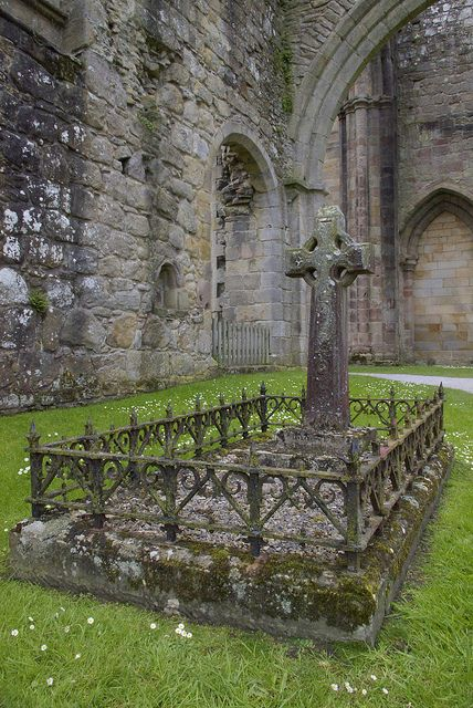 Bolton Priory graveyard  The monastery was originally founded at Embsay in 1120. Led by a  prior, Bolton Abbey was technically a priory, despite its name. It was  founded in 1154 by the Augustinian order, on the banks of the River  Wharfe.