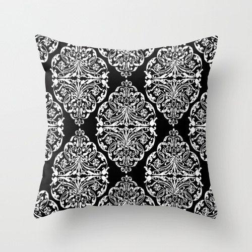 Black Pillow cover Modern Pillow Throw pillow Cushion covers Pillow case Accent pillow Couch pillow Geometric pillows Pattern Pillow Gift