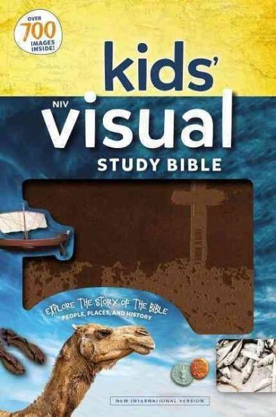 NIV Kids' Visual Study Bible: New International Version,, Leathersoft: Explore the Story of the Bible: Peo...
