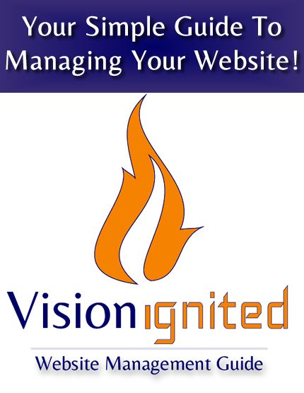 Managing Your Website - Vision Ignited