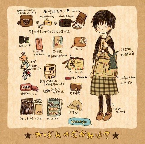 Mori Girl, Illustration