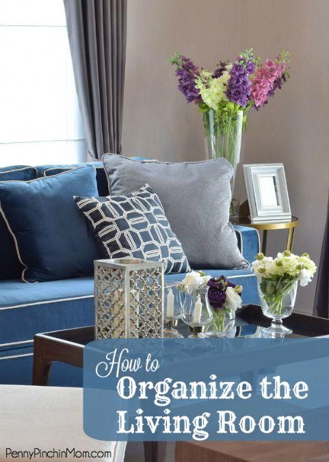 Organize Living Room Endearing Design Decoration