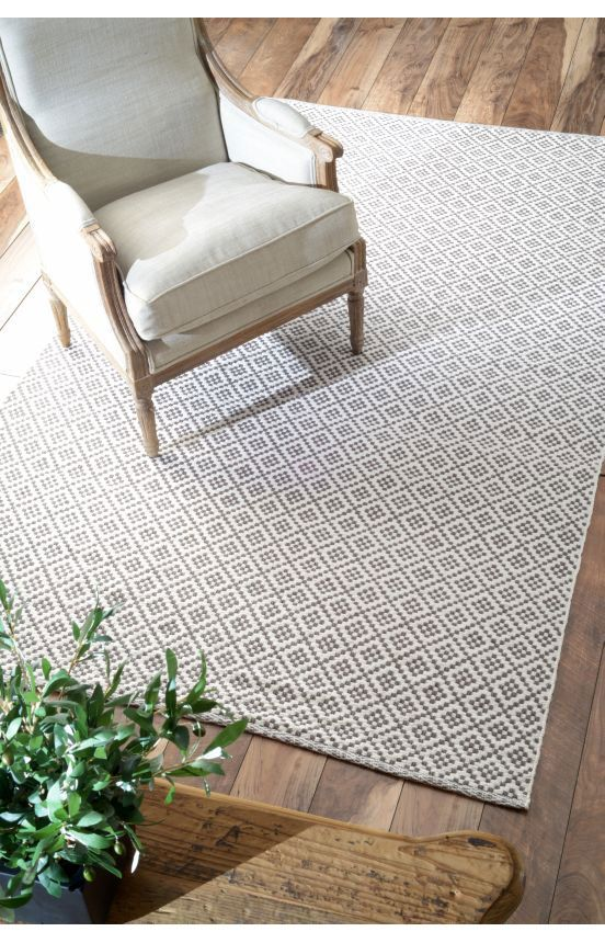 Charming Rugs USA Chalet Diamonds Cotton Trellis Flatwoven Grey Rug. Rugs USA Fall  Sale Up To