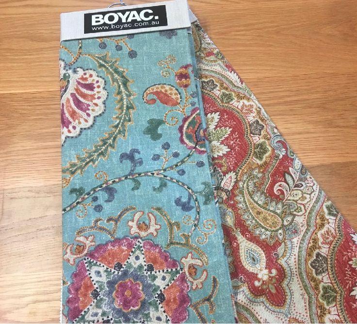 CORDEAUX & CO - PAISLEY PRINTS  #paisley #interior #design #colour #fabric #boyac