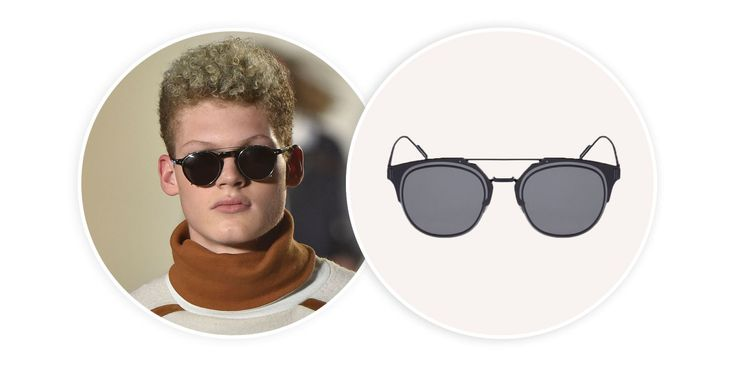 5 Men's Sunglass Styles You Can Shop Now (As Seen at New York Fashion Week)
