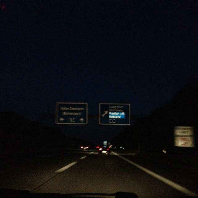 Fahrn, fahrn, fahrn auf der Autobahn 08/09/12