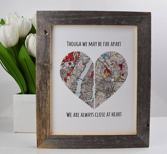 Gift For Boyfriend Going Away Gift For Girlfriend Best Friend Gift