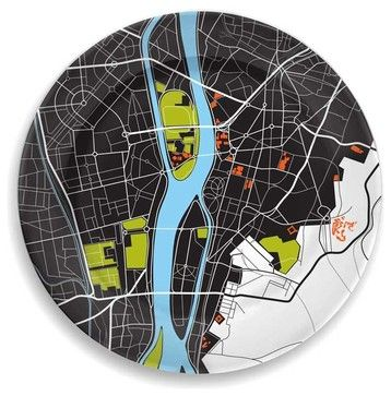 City on a Plate - Cairo by notNeutral contemporary-specialty-cookware