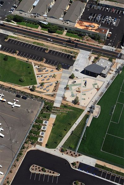Project: Santa Monica Airport Park /   Architect: ah'be landscape architects