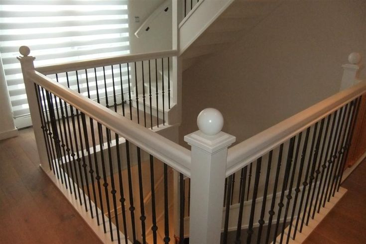 Trapleuning balustrade hout google zoeken trap pinterest - Balustrade trap ...