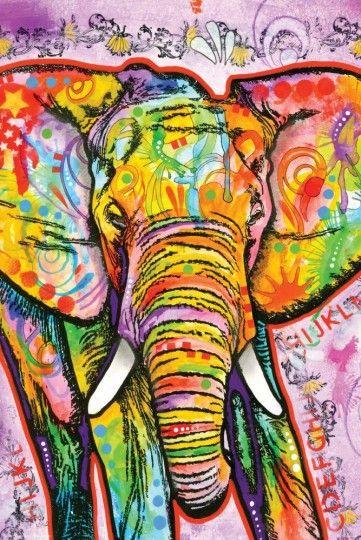 Słoń Dean Russo - plakat