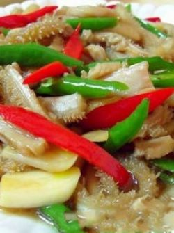 Fried Beef Tripe Recipe   ... beef tripe with Chinese Recipe,How to cook Crisp sauteed beef tripe