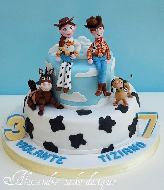 toy story cake by Alessandra Cake Designer, via Flickr