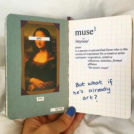 """Sharing Sketchbooks ☀️ on Instagram: """"Muse. Journal by one of my fav artists @victoiresjournal – – If you would like a feature; Remember to foll…"""