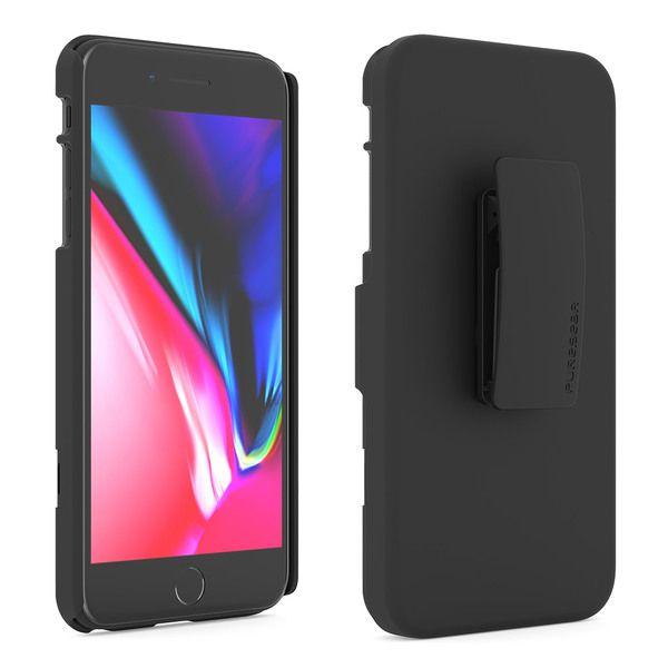 san francisco 00e48 1187e Puregear - Hip Case Clip for Apple iPhone 8 Plus / 7 Plus / 6s Plus ...