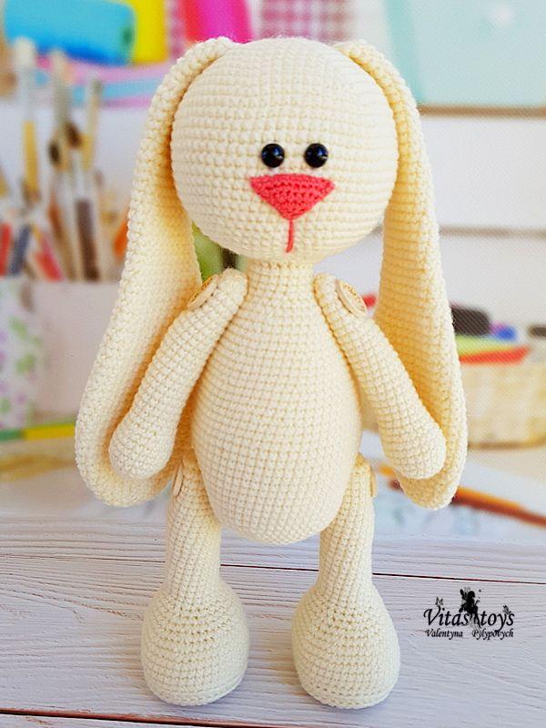 Amigurumi ) Örgü Oyuncak Sevimli Tavşan Yapımı 3 (Crochet ... | 800x600