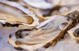 oysters......sublime....especially moonstones.