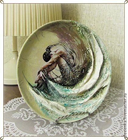 Декоративная посуда ручной работы. Ярмарка Мастеров - ручная работа Авторские декоративные тарелки. Handmade.