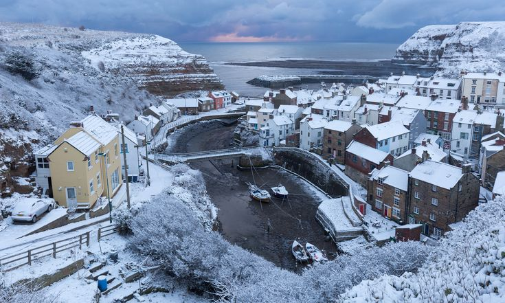 The beast from the east hits the UK – in pictures