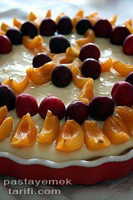 Meyveli Pasta Tarifi Pratik Pasta Tarifler tarifi