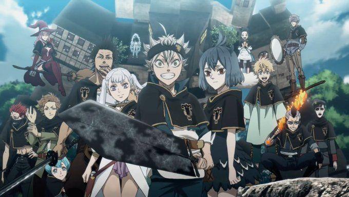 Black Clover Black Clover Manga Black Clover Anime Black Bull
