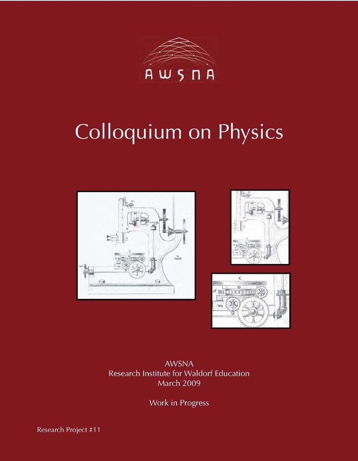 81 best hs physics images on pinterest physical science physics colloquium on physics waldorf high school research project fandeluxe Image collections