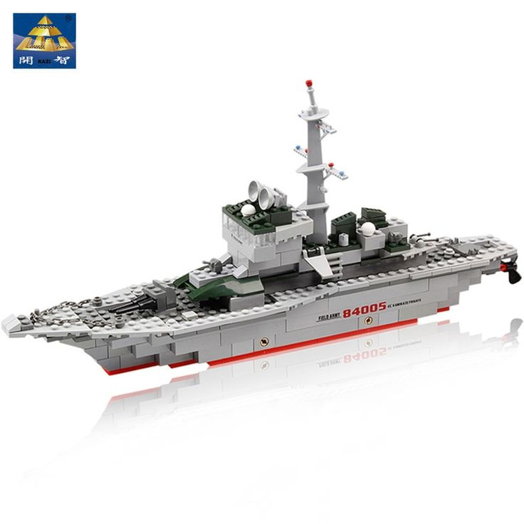11.95$  Buy now - http://alic3l.shopchina.info/go.php?t=32742316968 - Kazi Field Army Military Kamikaze Frigate Ship Scale Model Building Blocks Self-Locking Bricks Learning Education Toys 11.95$ #magazine