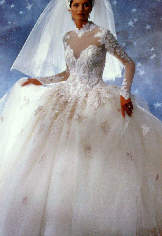 long dress lace 1984