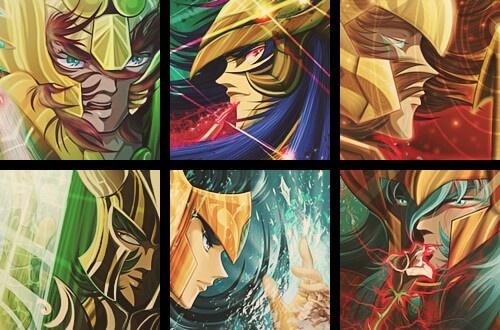 Gold Saints 2: Libra, Scorpio, Sagittarius, Capricorn, Aquarius, Pisces