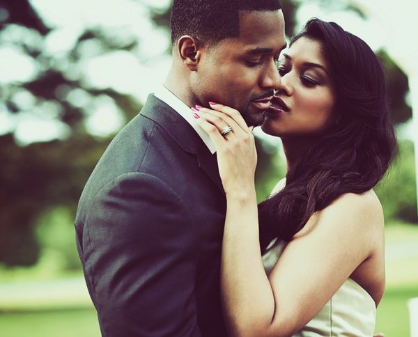 Marriage Counseling For African-american Couples Kissing