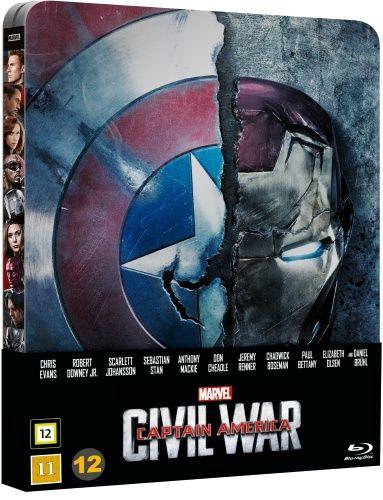 Captain America: Civil War - Limited Steelbook (Blu-ray)