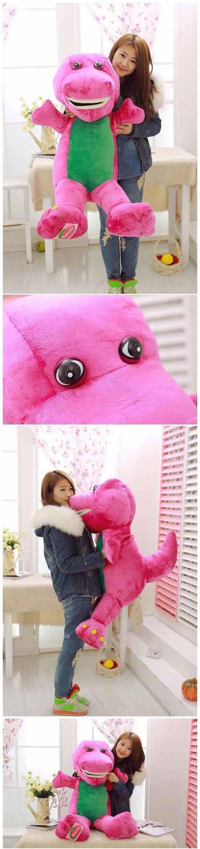 Barney 2625: 90Cm Gaint Big Barney The Dinosaur Plush Soft Kid Baby Toys Doll Pillow Gift -> BUY IT NOW ONLY: $67.45 on eBay!