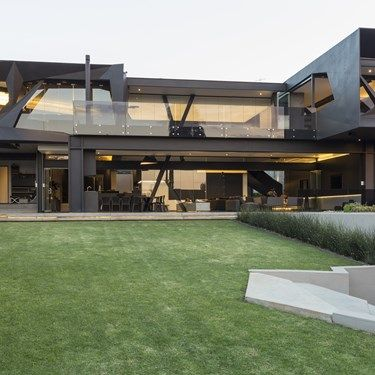 We look at Nico van der Meulen Architects' extreme transformation of Kloof Road House into an icon of sculptural architecture: