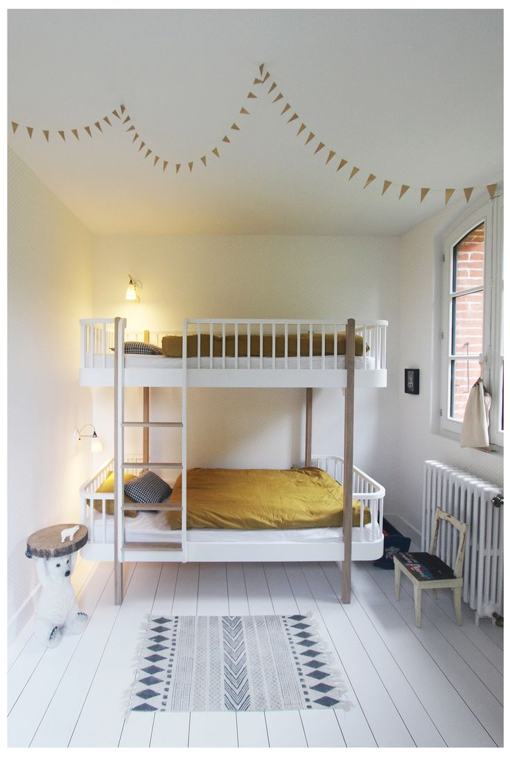 Wood Collection bunk bed by Oliver Furniture.