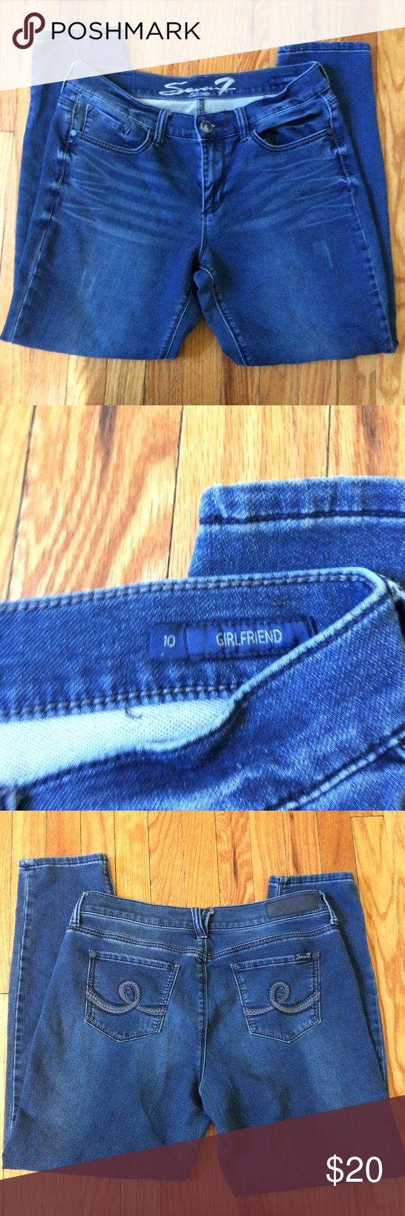 "SALE Seven7 Girlfriend Jeans Great condition. Inseam:28"" Seven7 Jeans Skinny"