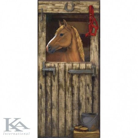 Pictura murala HORSE IN STALL.