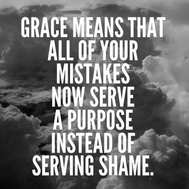 Grace. Thank you Jesus.