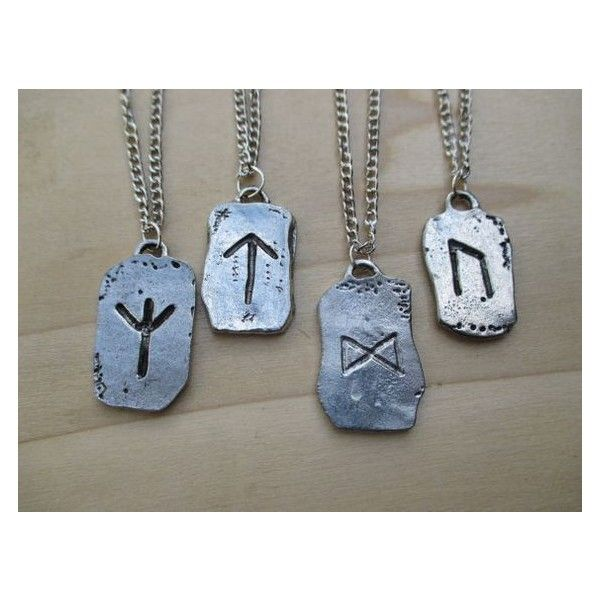 Viking Rune Necklace Norse Rune Protection Rune Warrior Rune... ❤ liked on Polyvore featuring men's fashion, men's jewelry, men's necklaces, mens long necklaces, mens necklaces, mens engravable necklaces, mens chains and mens chain necklace