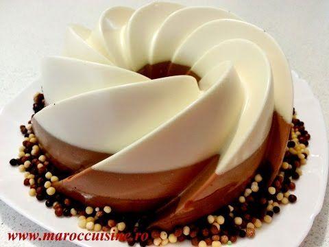 (665) Reteta Tort Trei Ciocolate - طورط بثلاث انواع من الشوكولاطة - YouTube