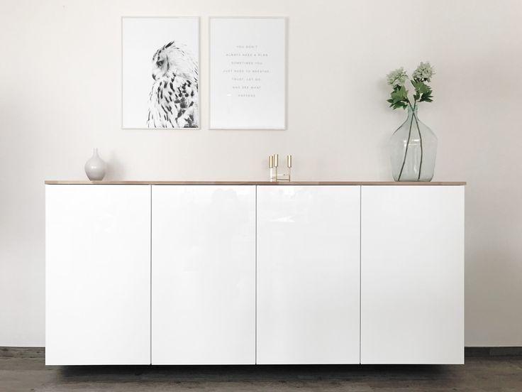 Ikea Hack – Metod Küchenschrank als Sideboard – Mamaskind | Mamablog rund um DIY-Ideen, Kinderbeschäftigung, Basteln und Minimalismus